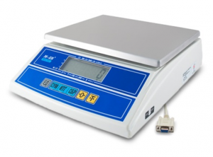 "Фасовочные весы M-ER 326AFL-15.2 ""Cube"" LCD RS232"