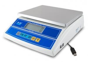 """Фасовочные весы M-ER 326AFL-6.1 """"Cube"""" LCD USB"""