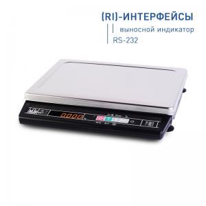 Товарные весы МАССА МК-3.2-А21 (интерфейс RS-232)