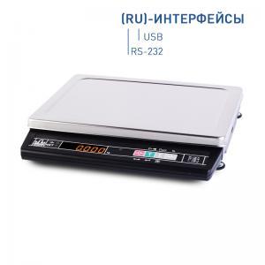 Товарные весы МАССА МК-6.2-А21 (интерфейс RS-232 и USB)